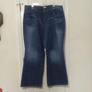 Fashion Bug boot cut jeans
